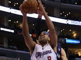Jared Dudley #9 of the Los Angeles Clippers in action against New Orleans Pelicans on December 18, 2013