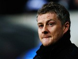 Cardiff manager Ole Gunnar Solskjaer prior to kick-off against Swansea during their Premier League match on February 8, 2014
