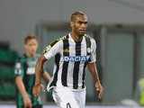 Gomes Pereira Naldo # 4 of Udinese Calcio in action during the Serie A match between US Sassuolo Calcio and Udinese Calcio on October 30, 2013