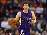 Sacramento Kings' Jimmer Fredette in action against Phoenix Suns on November 20, 2013