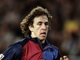 Carles Puyol in action for Barcelona on March 18, 2000.