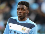 Devante Cole of Manchester City during the Nelson Mandela Football Invitational match between SuperSport United and Manchester City from Loftus Versfeld on July 14, 2013