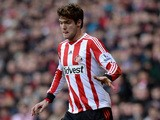 Marcos Alonso of Sunderland in action during the Premier League match between Sunderland and Hull City at Stadium of Light on February 8, 2014