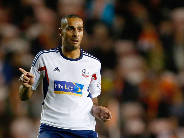 Darren Pratley of Bolton in action during the Sky Bet Championship match between Blackpool and Bolton Wanderers at Bloomfield Road on October 01, 2013