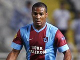 Florent Malouda of Trabzonspor AS in action during the UEFA Europa Leaque group stage match between Apollon Limassol FC and Trabzonspor AS held on September 19, 2013