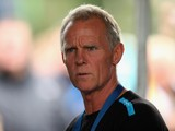 SKY Procycling Performance Advisor Shane Sutton looks on during stage three of the Tour of Britain, an individual time trial in Knowsley Safari Park, on September 17, 2013