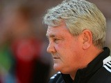 Hull manager Steve Bruce prior to kick-off against Sheffield United in the FA Cup semi final match on April 13, 2014