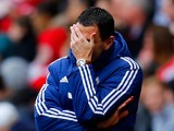 Sunderland manager Gus Poyet during the Barclays Premier League match between Sunderland and Everton at The Stadium of Light on April 12, 2014