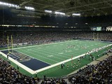 A general view of the Edward Jones Dome taken during the game between the St. Louis Rams and the Arizona Cardinals on September 12, 2004