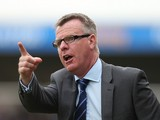 Portsmouth manager Andy Awford gives instructions during the Sky Bet League Two match between Northampton Town and Portsmouth at Sixfields Stadium on April 21, 2014