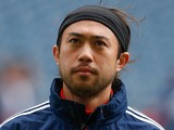 Lee Nguyen #24 of the New England Revolution looks on prior to the match against the Seattle Sounders FC at CenturyLink Field on April 13, 2013