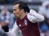 Vicente Sanchez #7 of Colorado Rapids in action on March 22, 2014