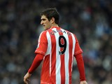 Danny Graham of Sunderland looks on during the Barclays Premier League match between West Bromwich Albion and Sunderland at The Hawthorns on February 23, 2013