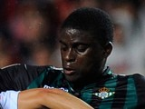 Alfred N'Diaye of Real Betis in action against Sevilla on March 13, 2014