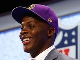 Minnesota Vikings QB Teddy Bridgewater is drafted on May 8, 2014