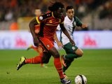 Romelu Lukaku in action for Belgium against Wales on October 13, 2013.