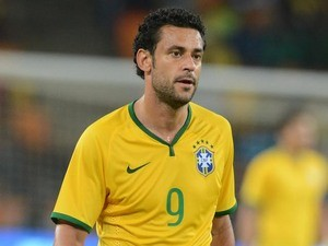 Fred of Brazil during the International Friendly match between South Africa and Brazil at FNB Stadium on March 05, 2014