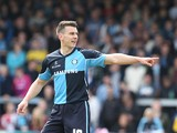 Matt Bloomfield of Wycombe Wanderers in action during the Sky Bet League Two match between Wycombe Wanderers and Northampton Town at Adams Park on April 18, 2014