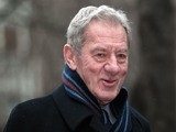 Milan Mandaric arrives at Southwark Crown Court on February 8, 2012