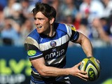 Tom Heathcote of Bath in action during the LV= Cup Semi Final match between Bath and Exeter Chiefs at Recreation Ground on March 9, 2014