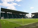 A general view of Easter Road Stadium before the Clydesdale Bank Scottish Premier League match between Hibernian and Rangers on August 22, 2010