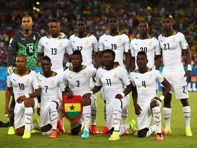 ghana next football match