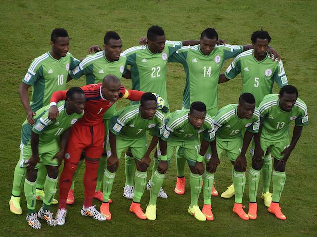 Nigeria team to face Iran on June 16, 2014.