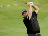 Kevin Stadler of the USA in action during the third round of the Alstom Open de France at Le Golf National on July 5, 2014