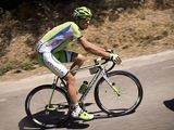 Italy's Vincenzo Nibali rides during the fourth stage (Montelimar - Gap) of the 66th edition of the Dauphine Criterium cycling race on June 11, 2014