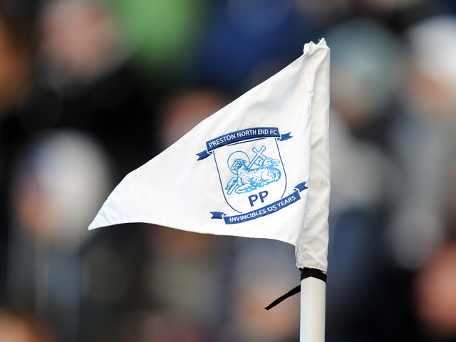 A general view of a corner flag in action during the Sky Bet League One match between Preston North End and Leyton Orient at Deepdale on February 15, 2014