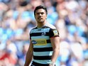 Denny Solomona of London Broncos during the Super League match between London Broncos and Catalan Dragons at Etihad Stadium on May 17, 2014