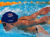Jemma Lowe of Great Britain competes during the Swimming Women's 200m Butterfly preliminaries heat two on day twelve of the 15th FINA World Championships in Barcelona on July 31, 2013