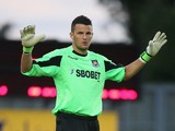 Stephen Henderson of West Ham United looks on during the pre season friendly match between Oxford United and West Ham United at Kassam Stadium on July 17, 2012