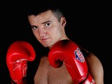 Anthony Fowler during a photo shoot with the British Lionhearts on February 19, 2013