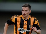 Conor Townsend of Hull City during the Pre Season Friendly match between Winterton Rangers and Hull City FC at Winterton Rangers FC on July 15, 2013