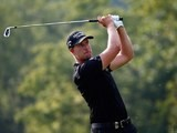 Henrik Stenson during the final round of the US PGA on August 10, 2014