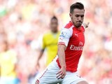 Aaron Ramsey in action for Arsenal against Crystal Palace on August 16, 2014