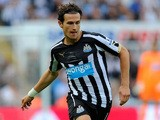 Newcastle player Daryl Janmaat in action during the Barclays Premier League match between Newcastle United and Manchester City  on August 17, 2014