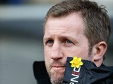 Head coach Denis Betts of the Widnes Vikings looks on during the Super League match between Widnes Vikings and Warrington Wolves at the Stobart Stadium Halton on March 29, 2013