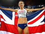 Jo Pavey wins the women's 10,000m gold at the European Championships in Zurich on August 12, 2014