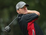 Michael Hoey of Northern Ireland in action during the first round of the Made In Denmark at Himmerland Golf & Spa Resort on August 14, 2014