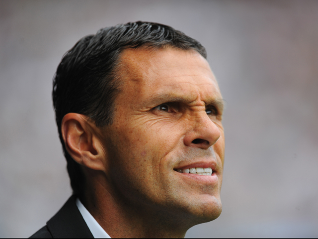 Sunderland manager Gus Poyet looks on before the Barclays Premier League match between West Bromwich Albion and Sunderland at The Hawthorns on August 16, 2014
