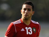 Adnane Tighadouini of Morocco in action in action during the Toulon Tournament Group B match between France and Morocco at Stade Marquet on May 28, 2012
