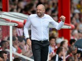Bob Peeters Manager Of Charlton Athletic shows his frustration during the Sky Bet Championship match between Brentford and Charlton Athletic at Griffin Park on August 9, 2014