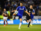 Cesc Fabregas of Chelsea controls the ball during the Barclays Premier League match between Burnley and Chelsea at Turf Moor on August 18, 2014