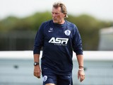 New First Team Coach Glenn Hoddle attends a Queens Park Rangers Training Session on August 14, 2014