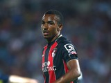 Junior Stanislas of Bournemouth during the Pre Season Friendly match between AFC Bournemouth and Southampton at The Goldsands Stadium on July 25, 2014