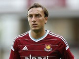 Mark Noble of West Ham United in action during the pre-season friendly match between West Ham United and Sampdoria at Boleyn Ground on August 9, 2014
