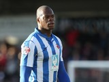 Marlon Harewood of Hartlepool United in action during the Sky Bet League Two match between Northampton Town and Hartlepool United at Sixfields Stadium on February 22, 2014