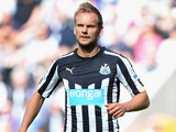 Siem De Jong of Newcastle United during the Barclays Premier League match between Newcastle United and Crystal Palace at St James' Park on August 30, 2014